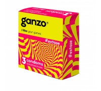 Презервативы GANZO NEW EXTASE No3 Точечно-ребристые