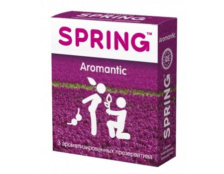 Ароматизированные презервативы SPRING Aromantic с цветочно-фруктовым ароматом (3 шт)