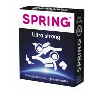 Ультрапрочные презервативы SPRING Ultra Strong (3 шт)