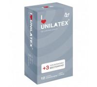 Презервативы UNILATEX ребристые (12 шт)