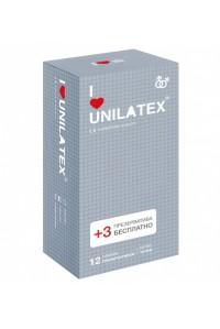 Презервативы UNILATEX точечные (12 шт)