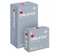 Презервативы UNILATEX точечные (3 шт)