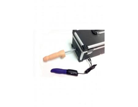 diva-904243 | Секс-машина чемодан Tool Box (две насадки + вибратор-язык)