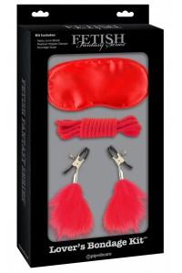 Секс-набор для фетиша Lover's Bondage Kit