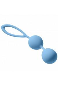 Средние шарики в силиконовой оболочке Sky Blue