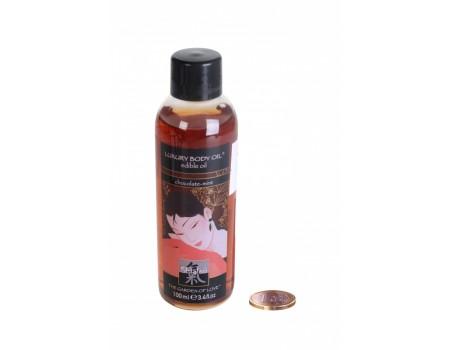Съедобное масло с ароматом шоколада и мяты Luxury Body Oil edible (100 мл)