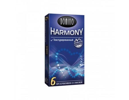 Текстурированные презервативы Domino Harmony (6 шт)