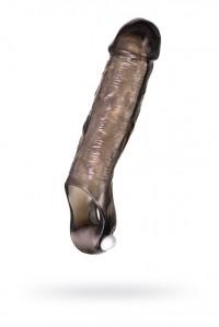 Удлиняющая насадка на член с вибрацией и фиксирующим кольцом XLover