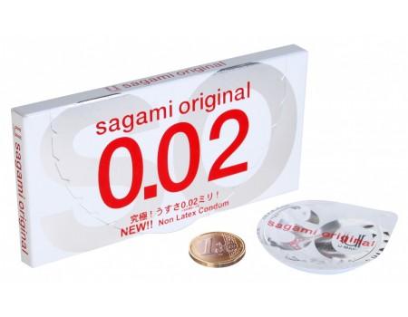 Ультратонкие полиуретановые презервативы Original 0,02 мм (2 шт.)