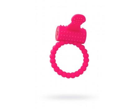 Эрекционное вибро-кольцо со стимулирующим язычком